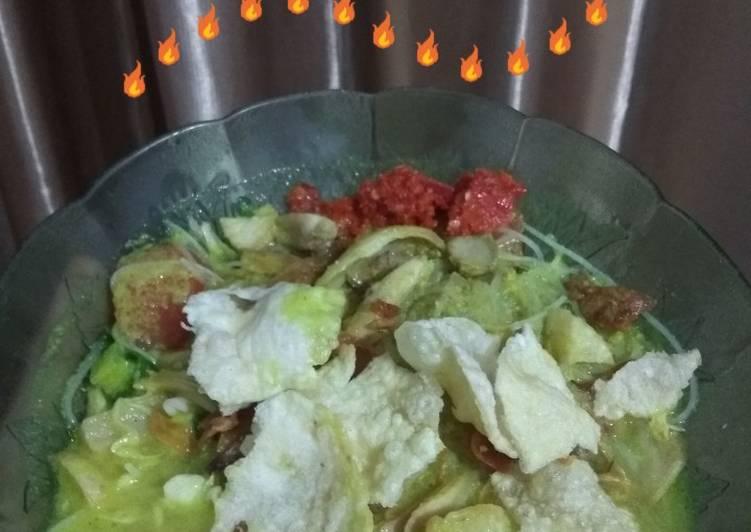 Cara membuat Soto Ayam Santan yang bikin ketagihan