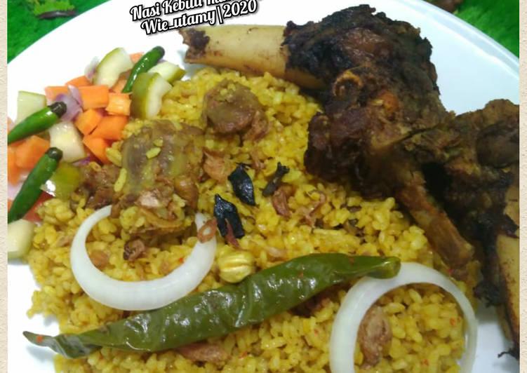 Resep mengolah Nasi Kebuli Kambing Recook mba @Susi Agung ala resto