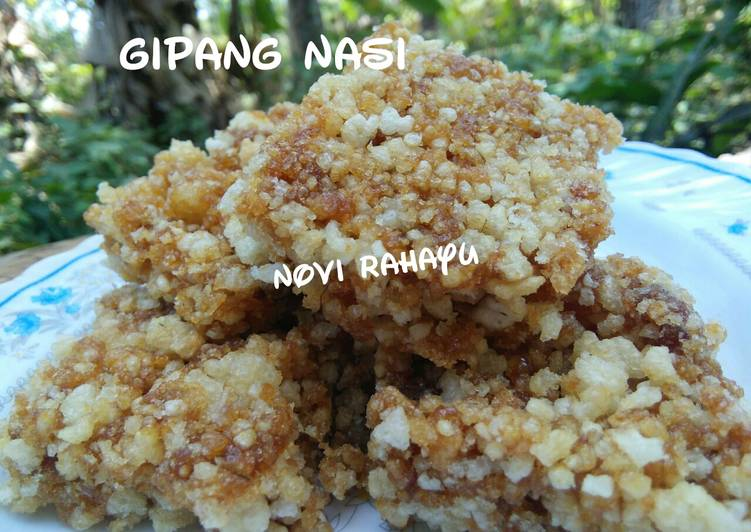 Resep: Gipang nasi lezat
