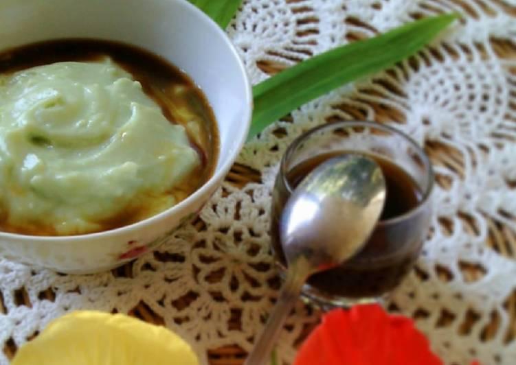 Resep: bubur sumsum pandan lezat
