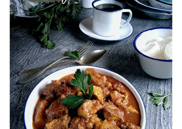 Resep memasak Rabeg Sapi ala resto
