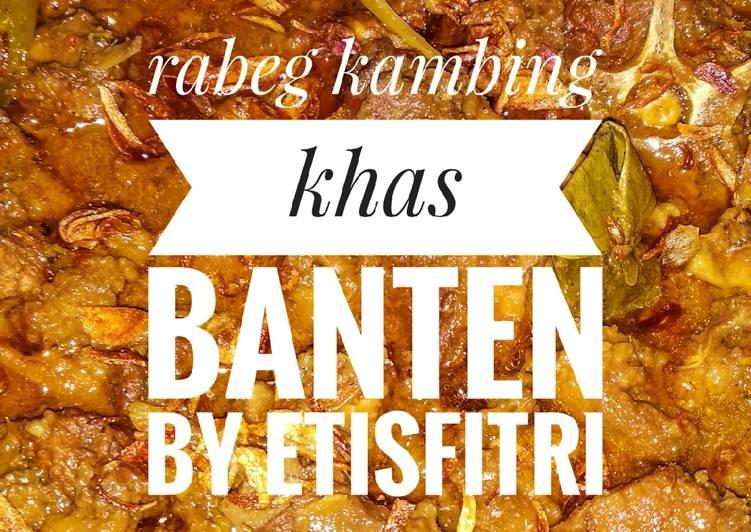 Resep: Rabeg kambing khas Banten lezat