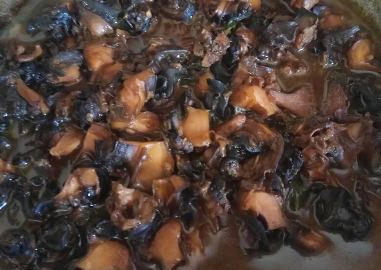 Cara Mudah memasak Rabeg Tutut/keong yang menggugah selera