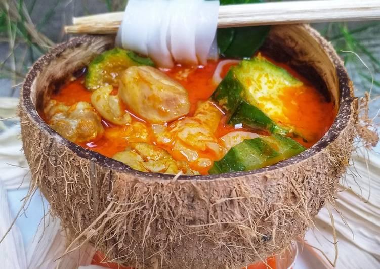 Cara memasak Ayam Adun khas Madura-Kwetiau & Oyong yang menggoyang lidah