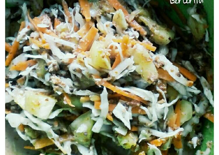 Resep memasak Asinan Sayur khas Betawi ala resto