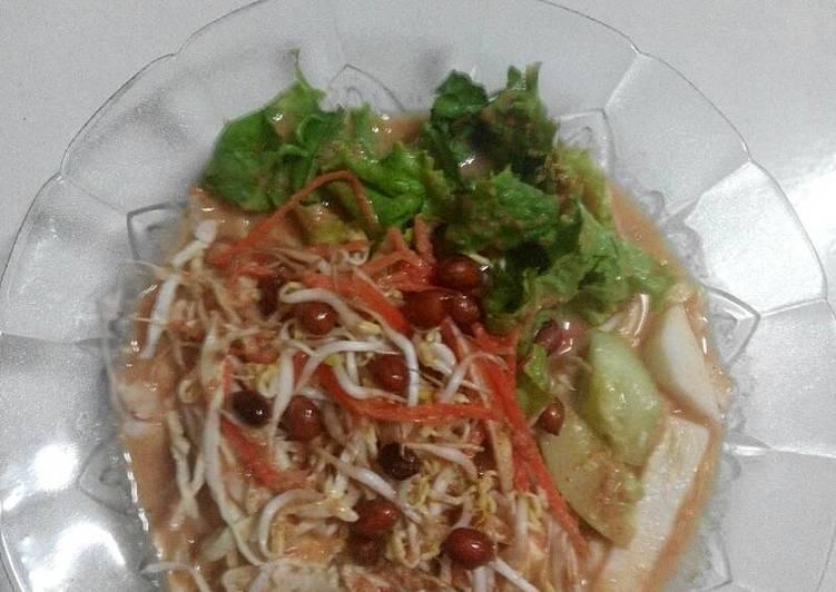 Cara Mudah memasak Asinan jakarta yang menggugah selera