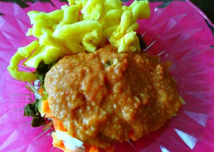 Resep memasak Asinan sayur Betawi