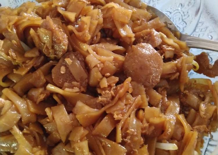 Resep: Mie tiaw goreng sederhana yang menggugah selera