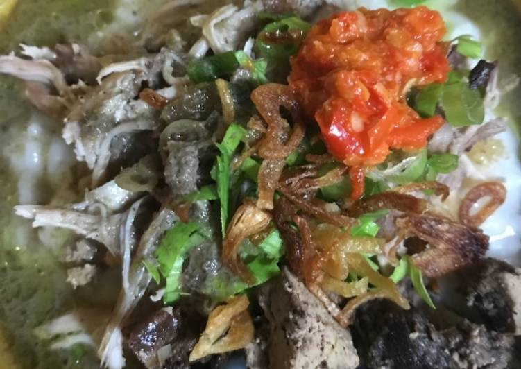 Resep memasak Bubur ayam jakarta