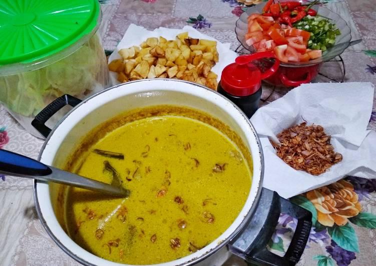 Cara Mudah memasak Soto betawi