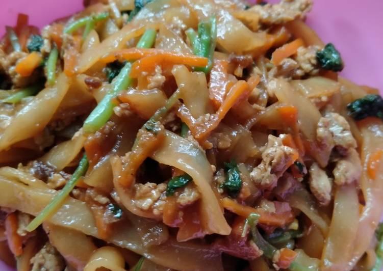 Resep membuat Kwetiaw goreng simpel yang menggoyang lidah