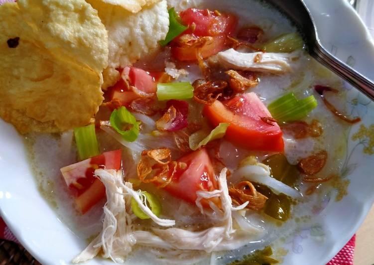 Resep: Soto Ayam Betawi yang menggugah selera