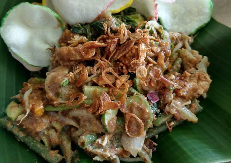 Cara memasak Gado-gado betawi yang bikin ketagihan