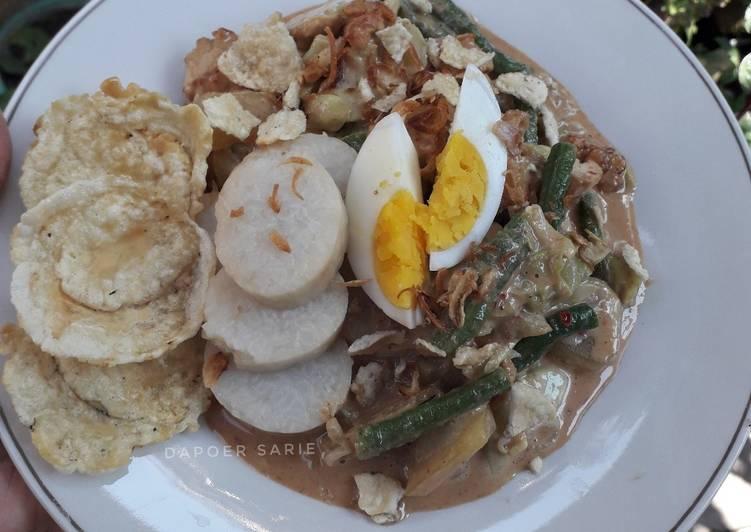Cara Mudah memasak Gado-Gado Jakarta yang bikin ketagihan