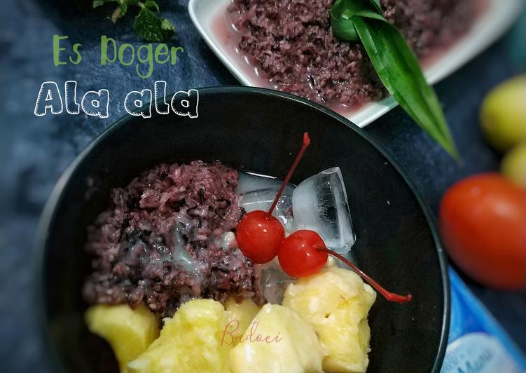 Resep: Es Doger ala-ala yang bikin ketagihan