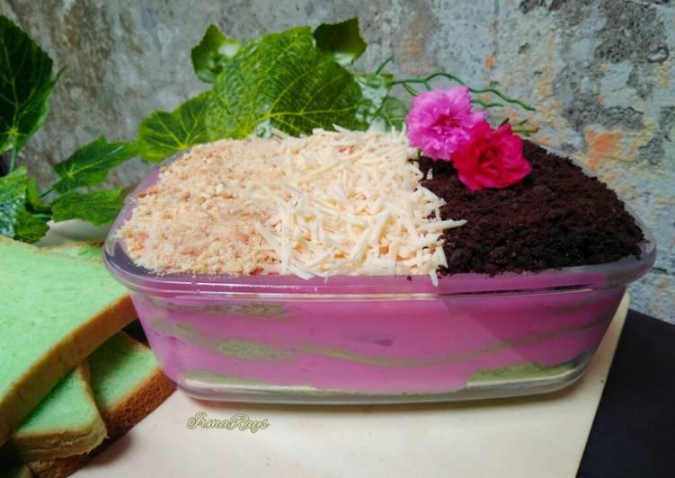 Resep: Setup Roti Pandan (rasa es doger)