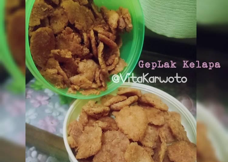 Resep membuat Geplak Kelapa/Makanan ringan tradisional Homemade