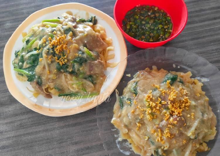 Resep: Kuetiaw Siram Sapi yang menggoyang lidah