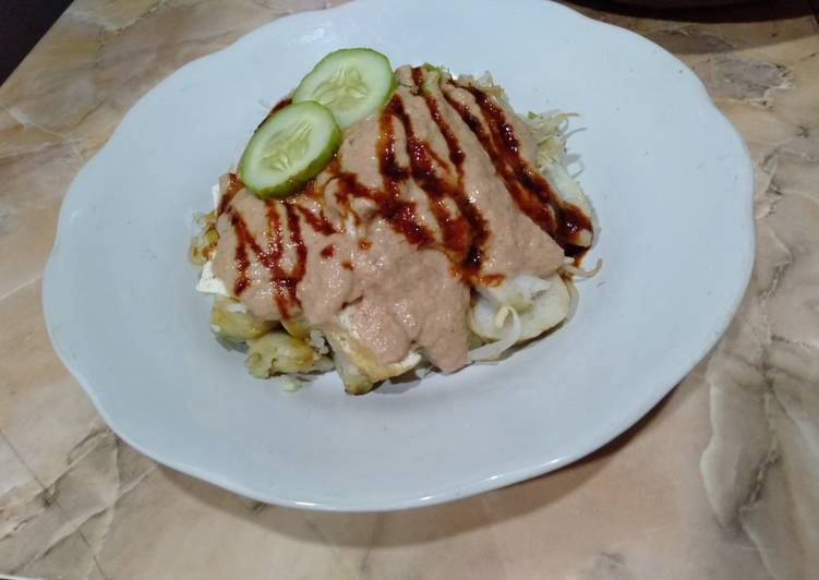 Cara Mudah memasak Ketoprak sederhana yang menggugah selera