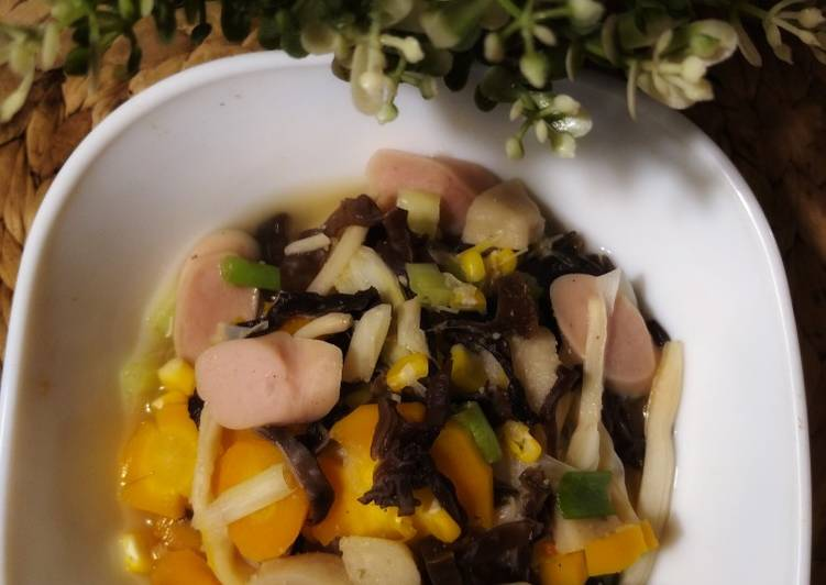 Resep mengolah Sup kimlo enak