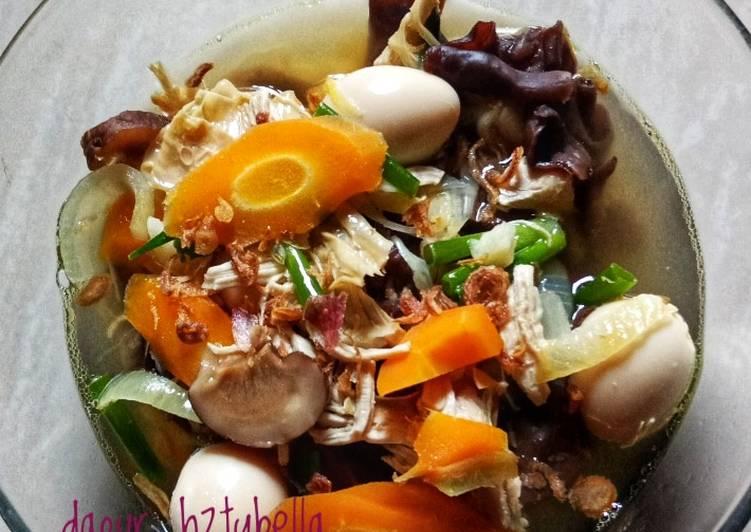 Cara memasak Sup Kimlo yang bikin ketagihan