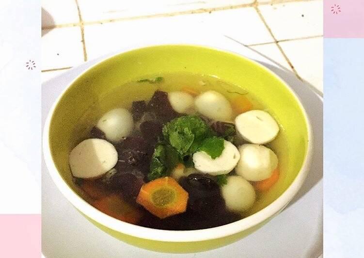 Resep: Sop Kimlo / Kimlo Soup yang bikin ketagihan