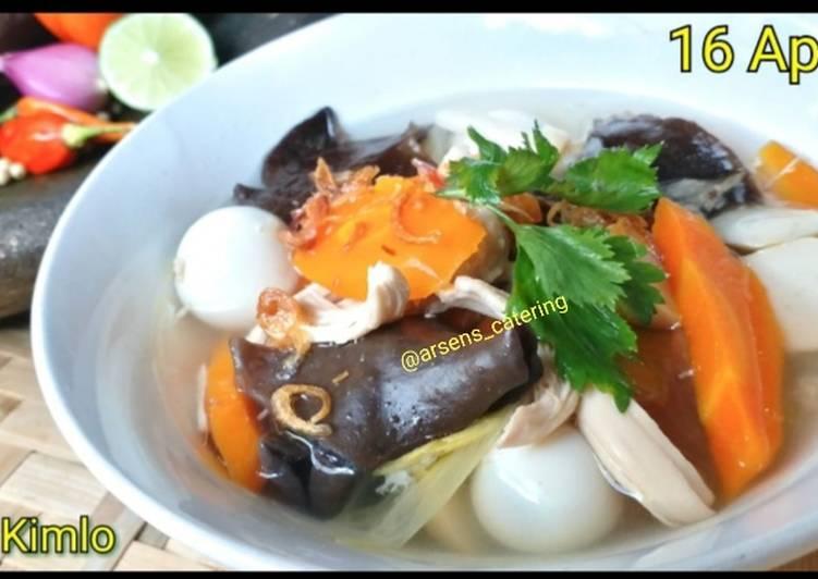 Cara memasak SOP kimlo yang bikin ketagihan