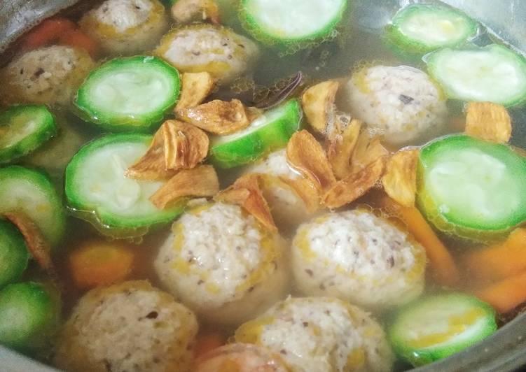 Resep memasak Sup KimLo kuah Dashi yang menggugah selera