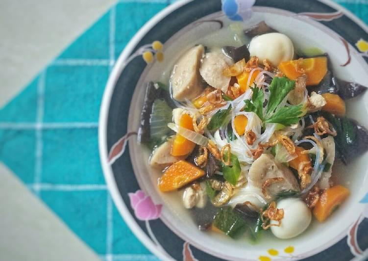 Resep: Sayur Sop Kimlo yang bikin ketagihan