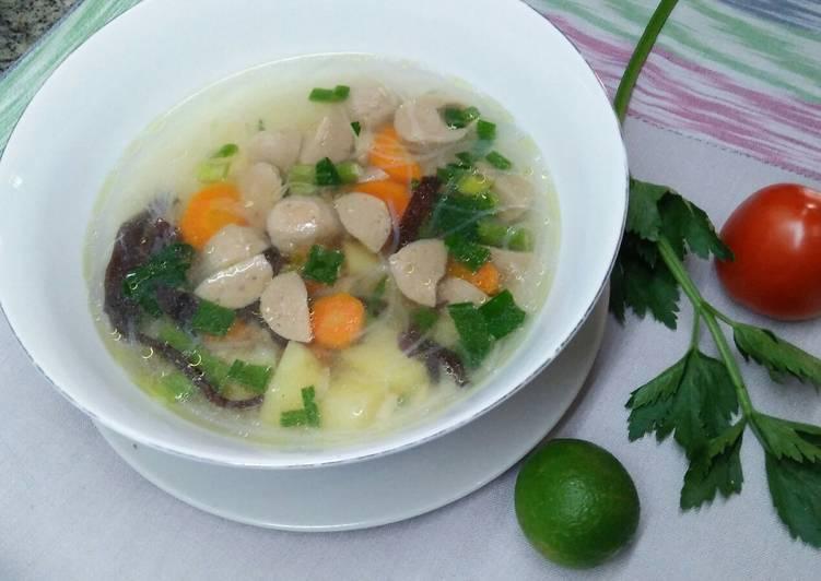Resep: Sop kimlo sederhana ala resto