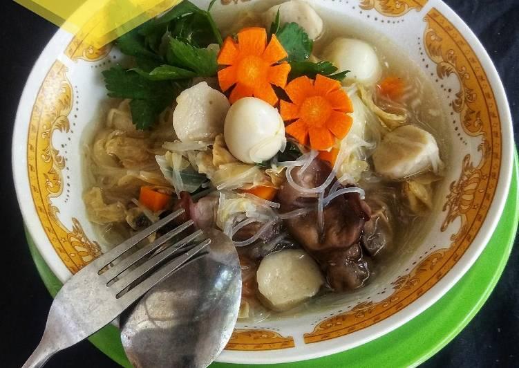 Cara Mudah mengolah Sup kimlo yang menggugah selera