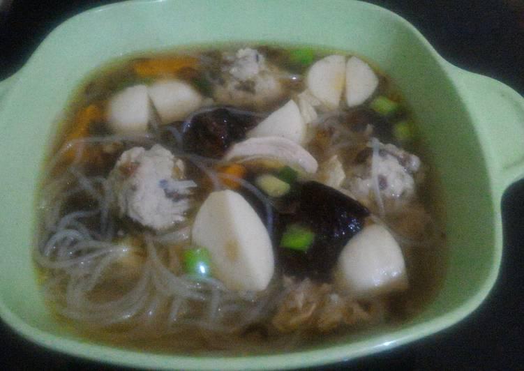 Resep: Sup kimlo