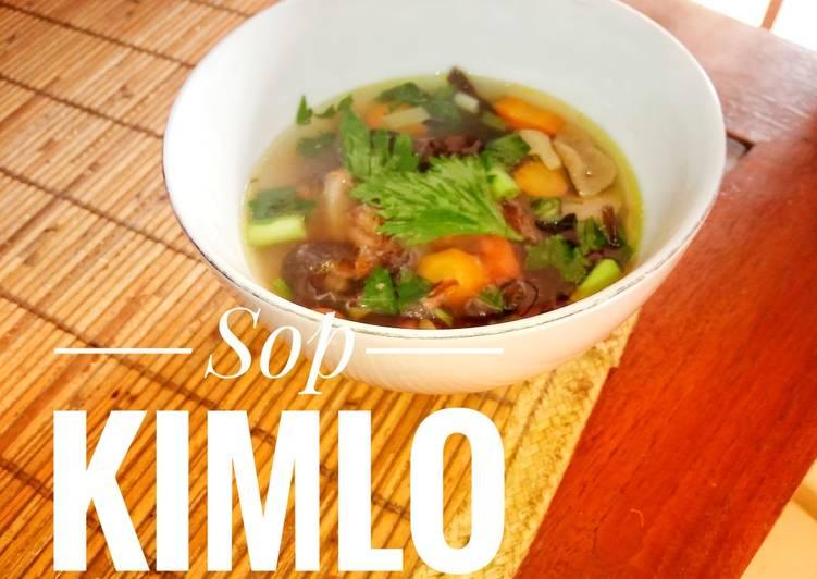 Cara mengolah Sop kimlo ala kadarnya sedap