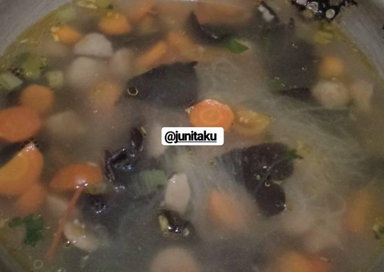Resep: Soup Kimlo yang bikin ketagihan