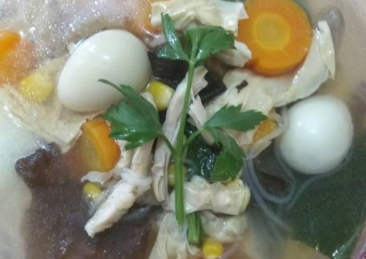 Resep memasak Sup Kimlo Simple yang menggugah selera