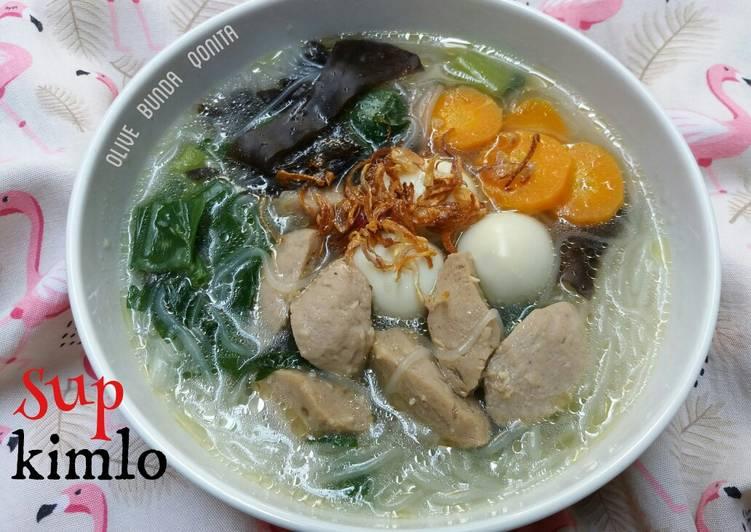 Sayur sup kimlo khas palembang