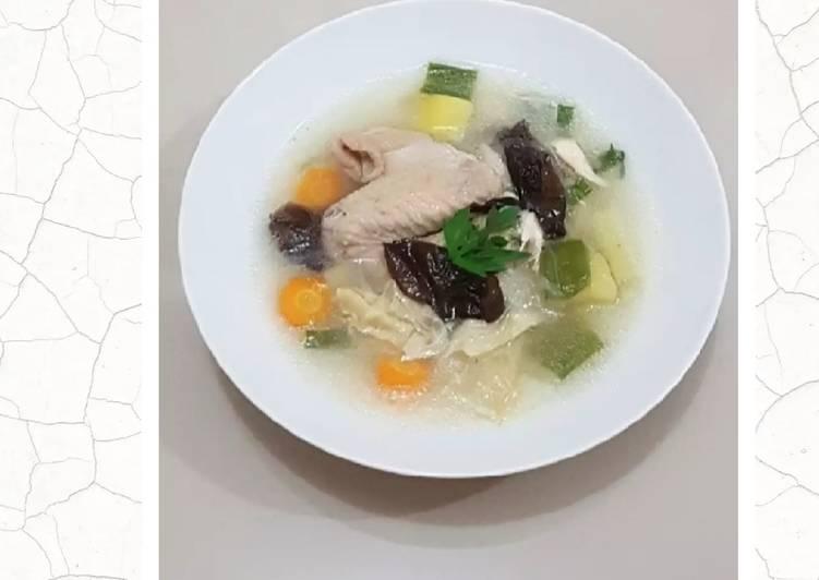 Sop Ayam Kimlo