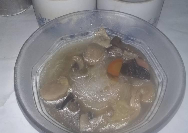 Resep: Sup kimlo sedap