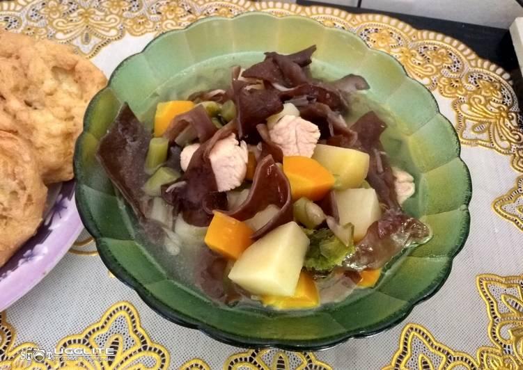 Resep: Sop kimLo Ayam ?² yang menggugah selera