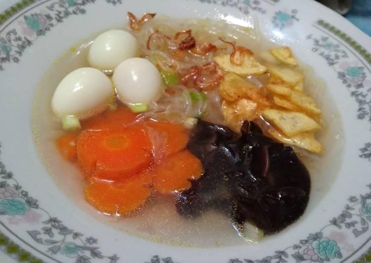 Cara memasak Sup kimlo yang menggugah selera