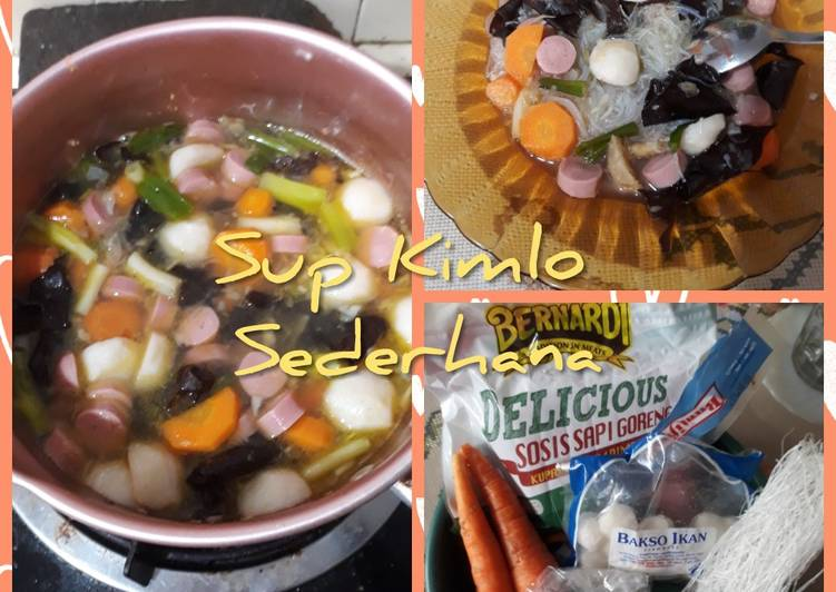 Resep: #18. Sup Kimlo Sederhana ala resto