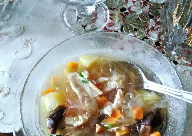 Cara memasak Sup Kimlo Segar & Praktis enak