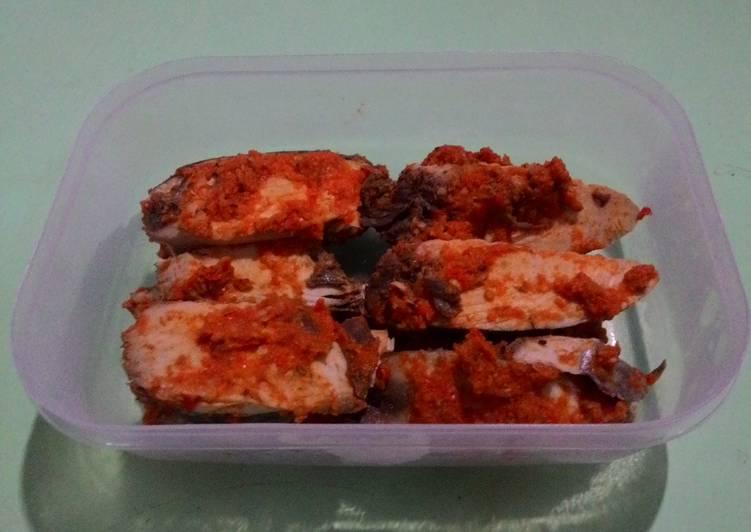 Cara Mudah membuat Ikan TONGKOL bumbu 'pelas' yang bikin ketagihan