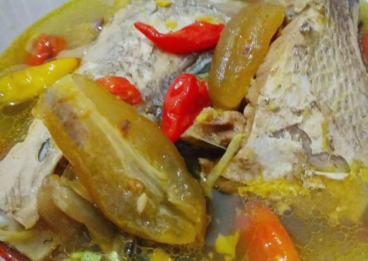 Resep: Ikan laut bumbu Pindang Serani sedap