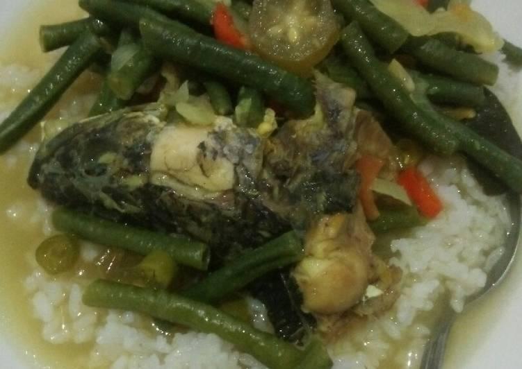 Resep memasak Pindang Serani Kepala Ikan Kuthuk DaMuDza yang menggugah selera
