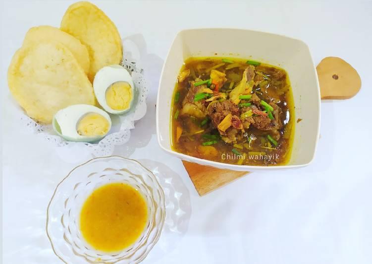 Resep: Rawon Balungan khas suroboyo istimewa