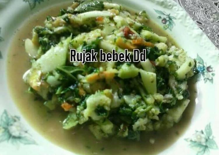 Resep: Rujak bebek/ tumbuk lezat