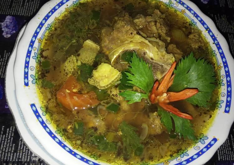 Cara memasak Rawon tulang sapi lezat