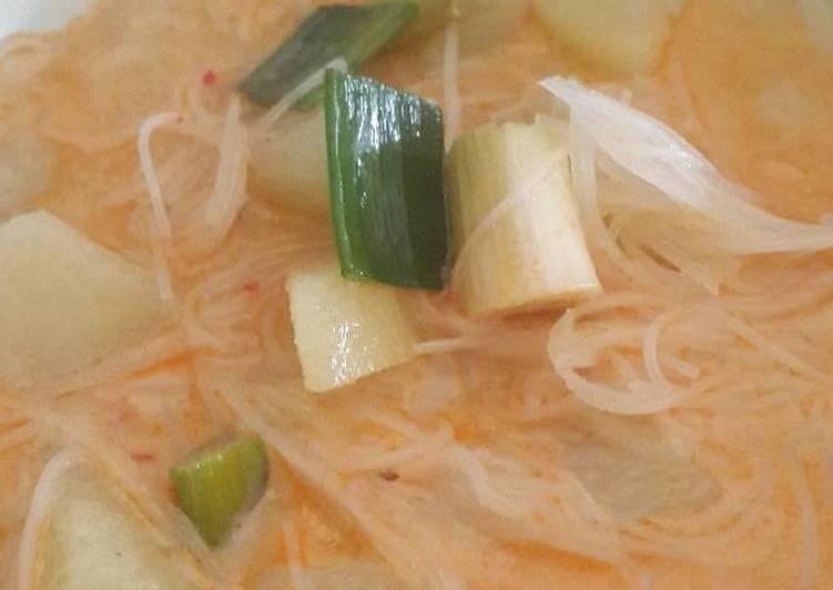 Cara memasak Sayur besan (khas sunda dan betawi) by. dapoer linggar istimewa