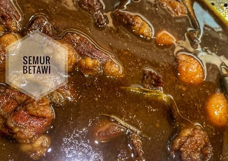 Resep mengolah Semur Betawi (Daging sapi dan kentang) istimewa